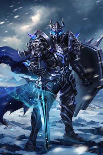 Темный Завет Ушедших 3. Рыцарь Госпожи Смерти , Георгий Смородинский